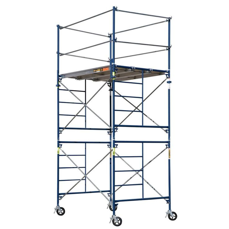 Portable Scaffolding With Wheels : Best ideas about rolling scaffold on pinterest