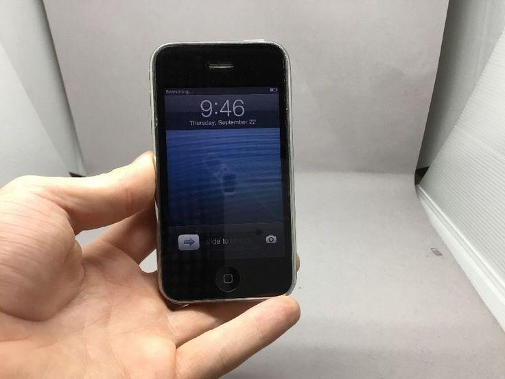 USED - Apple iPhone 3GS - 8GB - Black (AT&T) Smartphone (MC555LL/A) | eBay