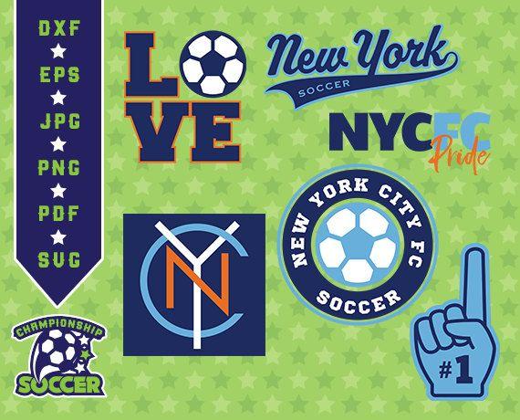 New York City Fc Svg, NY City Soccer, dxf, svg, pdf, jpg, eps Files, Cutting Files, New York Fc clipart, football soccer cliparts, 05-MLS