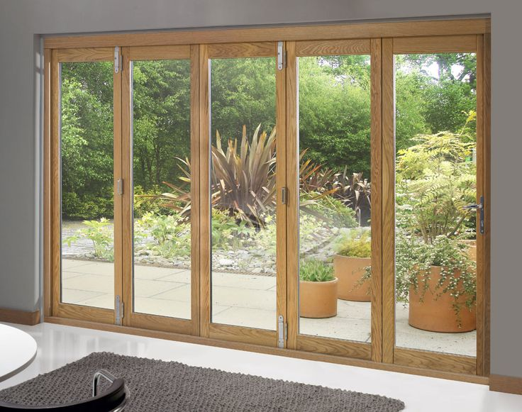 Trufold 46 Supreme External 5 Door (12 ft) Unfinished Oak