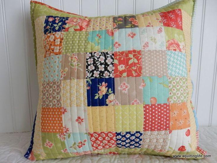 OLFA®   Patchwork Pillow
