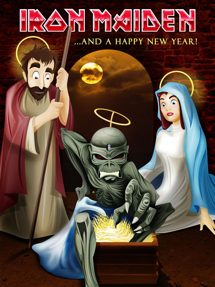 Iron Maiden Xmas Card Competition 2005  Finalist