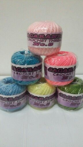 Crochet cottons ....lots of colours available
