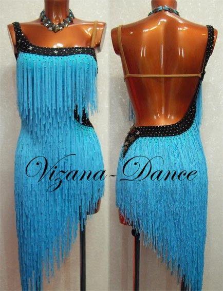 Платье латина Юн-2 Прокат-300 грн. Визана-Данс платья для спортивных бальных танцев