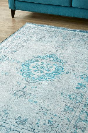Weathered Antique Aqua: 1.5 X 2.3 metres. Printed Polyester. Available in other sizes upon request. Plea...