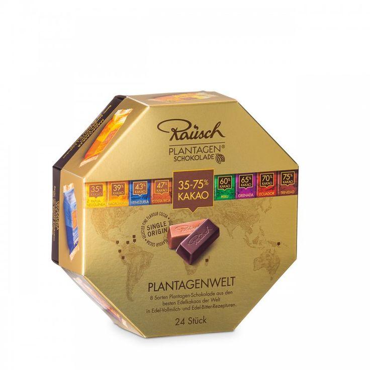 Rausch Plantagenwelt mit 24 Schokoladen-Minis