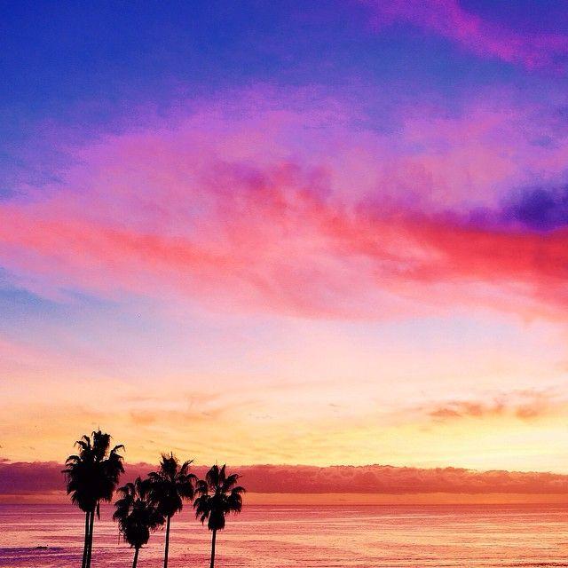 I love LA sunsets! / Photo by Kim Genevieve