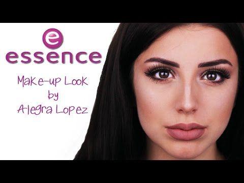 Essence Drogerie Make-up Tutorial Contouring Baking Highlight One Brand Alegra Lopez - YouTube