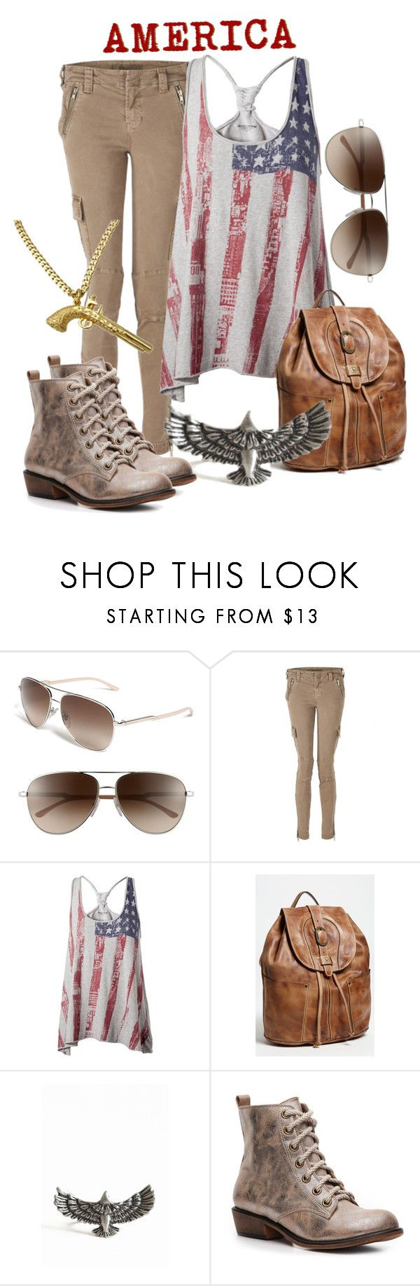 """The Experiment"" by princesschandler ❤ liked on Polyvore featuring STELLA McCARTNEY, J Brand, Tommy Hilfiger, Patricia Nash, Dirty Laundry, Wildfox, america, eagle, democracy in america and american"
