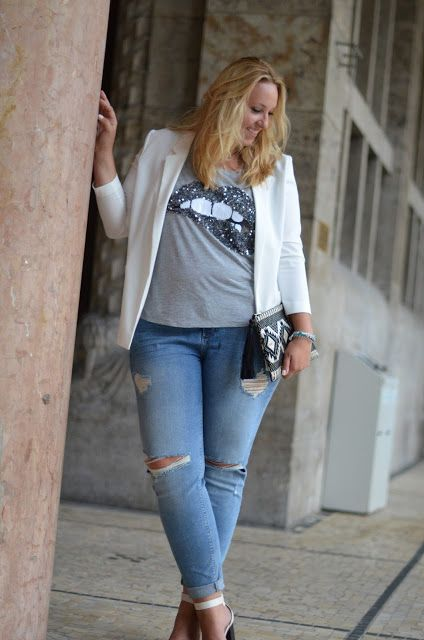 Kiss Kiss - Bang Bang & Girlfriend Jeans - The Skinny and the Curvy one