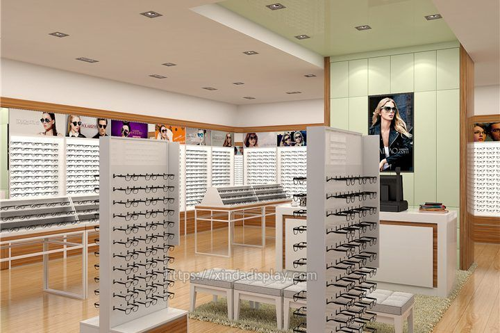 Fashion 3d Optical Shop Interior Design In 2020 With Images Store Design Store Design Interior Retail Store Interior