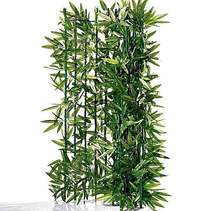 Sichtschutzhecke Bambus