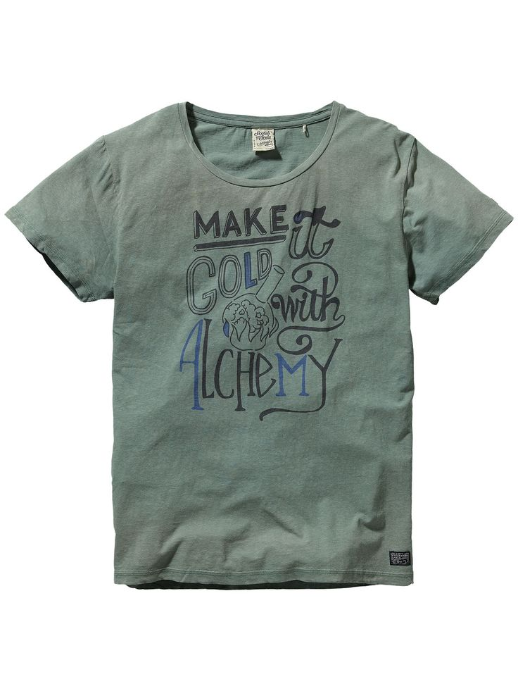 Vintage style t-shirt | Jersey s/s tee's & tops | Men's Clothing at Scotch & Soda