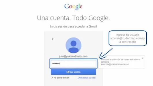Abrir mi correo de Gmail - iniciar sesión en gmail con éxito