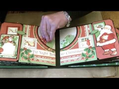 Dec 2014 G45 Twas the Night Before Christmas Album - by Clare Charvill