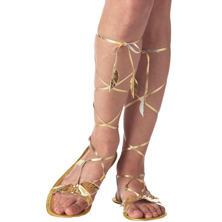 Ausgefallene Sandalen für einen perfekten Auftritt als Römerin, Elfe, Griechin oder Göttin.