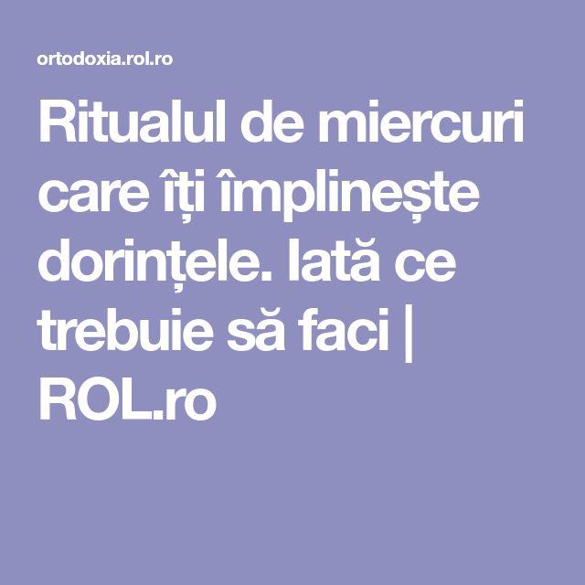 Ritualul de miercuri care îți împlinește dorințele. Iată ce trebuie să faci | ROL.ro