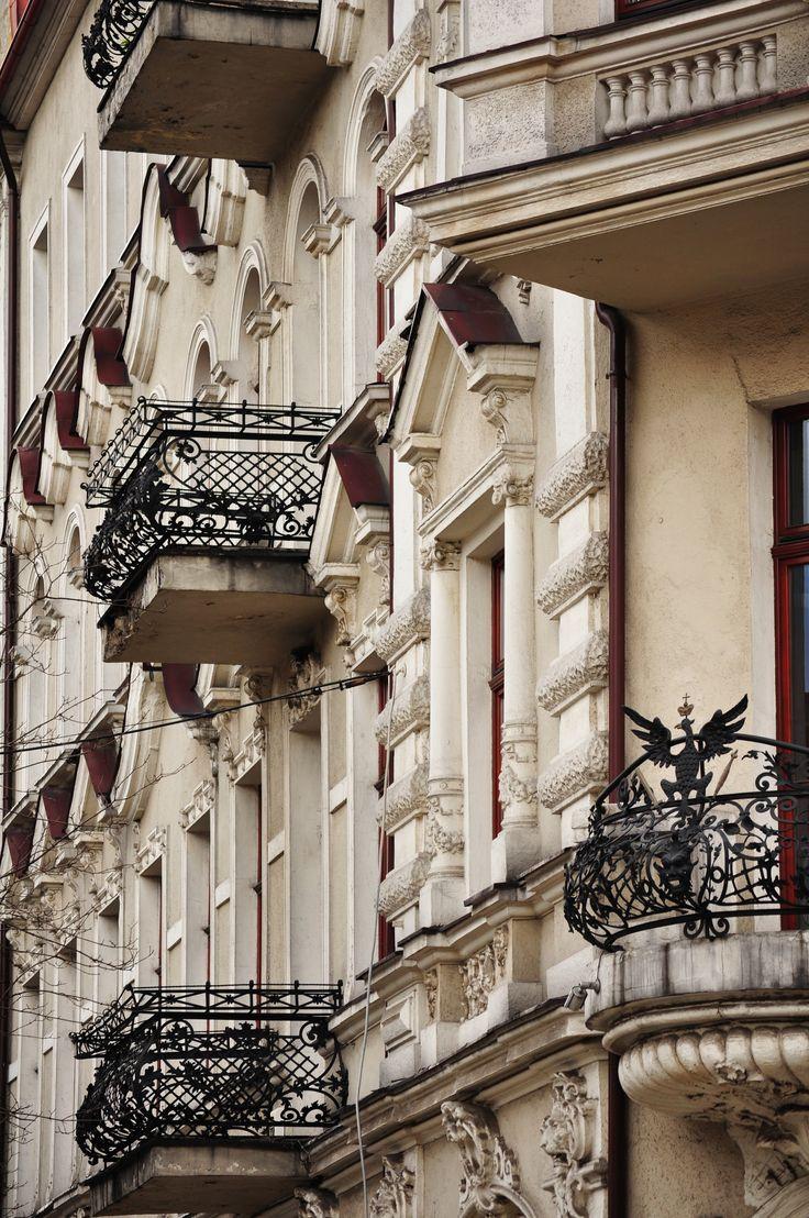 """""""Detale architektoniczne bytomskich kamienic"""" (fot. Halina Tarnawiecka)"""