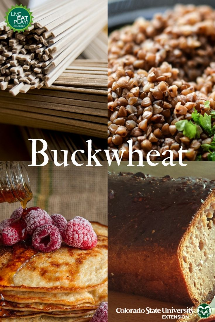 Try mixing up your diet with buckwheat! It's naturally gluten-free and a good source of protein, fiber, copper and magnesium.