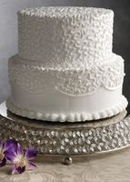 Crystal Cake Stand 14in