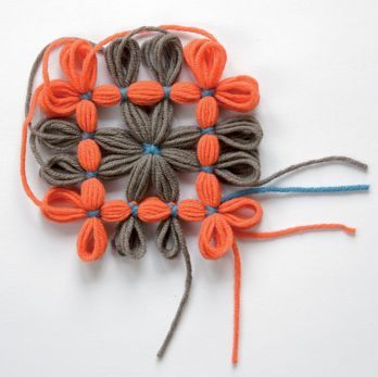 Loom infinity scarf, excerpt, for more languages click here: http://www.prym-consumer.com/prym/proc/docs/0H0H004e2.html?nav=0H0H007iz