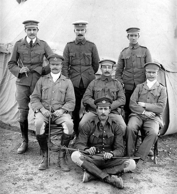 British soldiers - Boer war 1900s