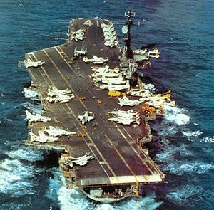 USS Midway, my father served on this ship, which is now on display in San Diego