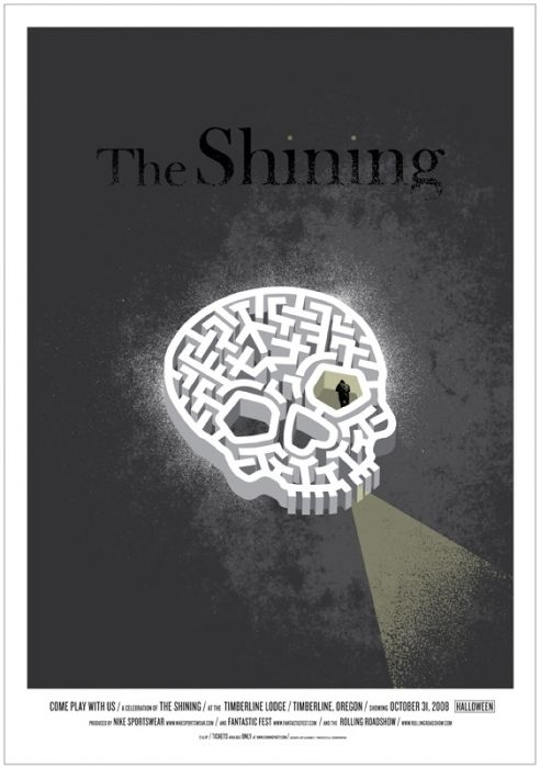 Trend The Shining by Jeff Kleinsmith for Mondo
