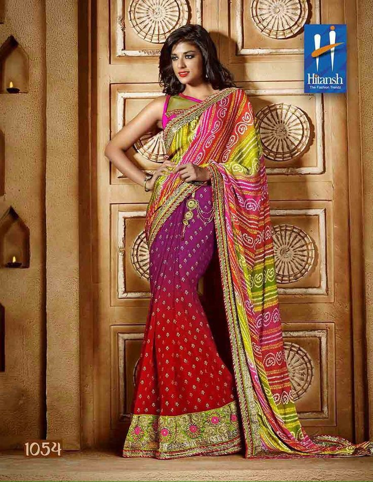 """""""Weekend saree sale"""" Pls call/whatsapp +919600639563. Code: wss htpnkred Price: Pls inbox/whatsapp Material: Georgette saree with attached blouse. For booking and further details pls call or whatsapp us at +919600639563. Happy shopping y'all :) Be Beautiful :)"""