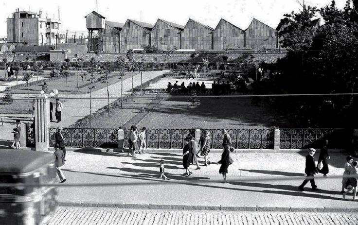 Aksaray Parkı ve Tramvay Deposu (Şimdiki İSKİ Binası)