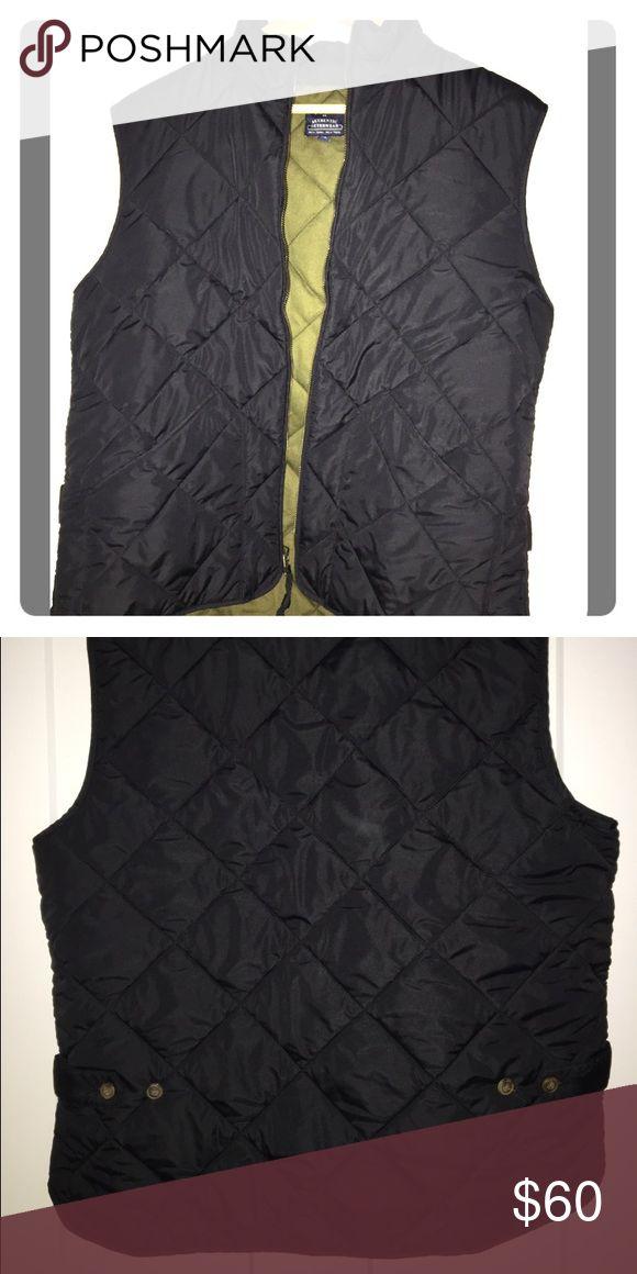 J. Crew men's vest J. Crew black vest size medium J. Crew Jackets & Coats Vests