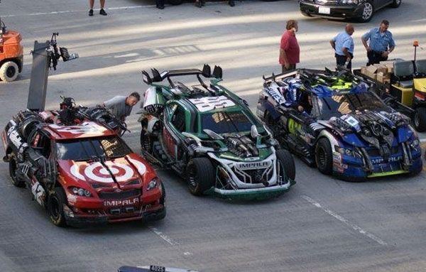 nascar transformer cars | NASCAR cars in the new Transformers movie? - From the Marbles - NASCAR ...