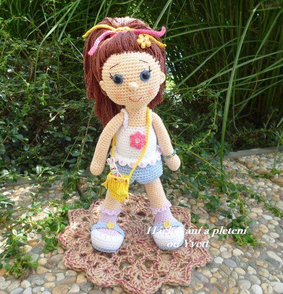 PATTERN Doll Paty crochet pattern amigurumi por CrochetfromYvett
