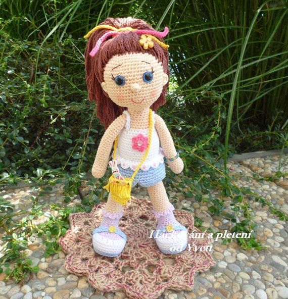 PATTERN Doll Paty crochet pattern amigurumi by CrochetfromYvett