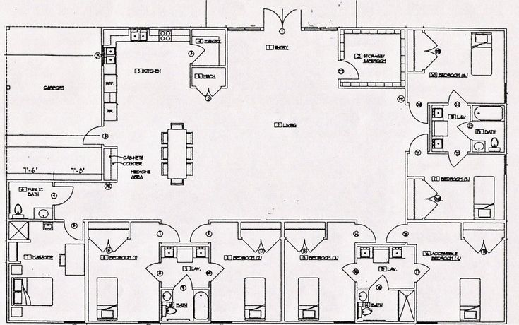 ordinary group home floor plans #2: our perfect future home!! | Me | Pinterest | Simple house, Future and House