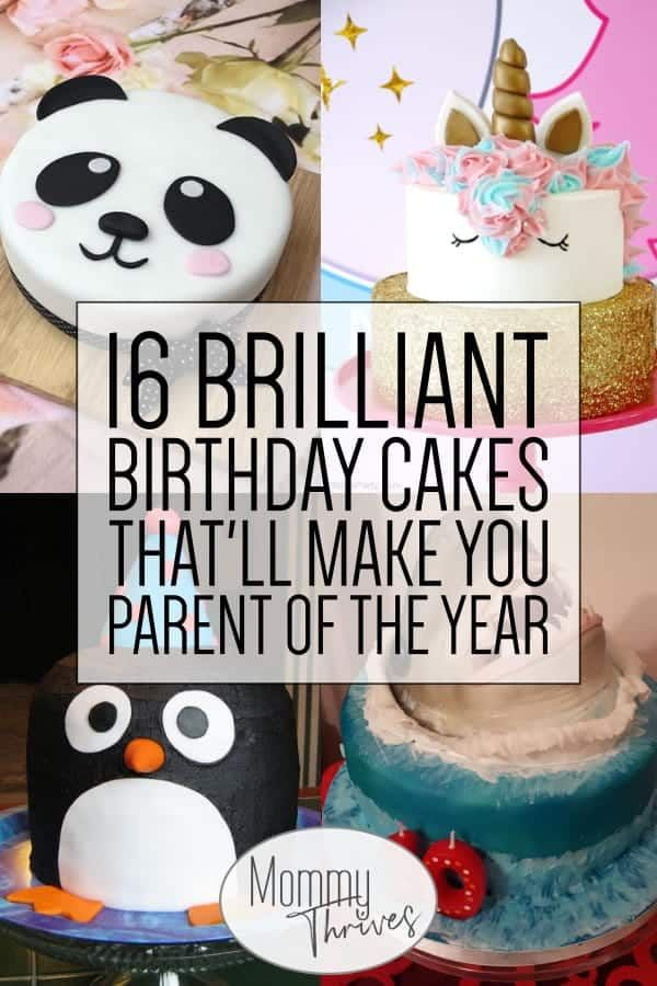 16 Brilliant Birthday Cakes For Kids With Images Easy Kids
