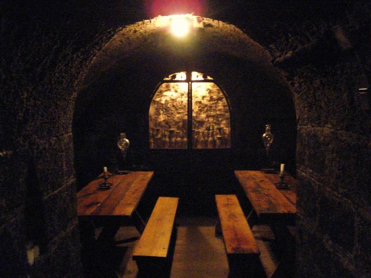 wine cellar, Tokaj, Hungary