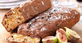 Filmjölksbröd med nötter och torkad frukt – recept