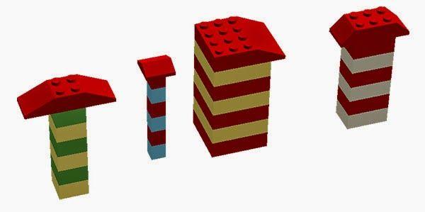Лего-математика: поняття «більше — менше», закономірності, комбінаторика і … Лего-дива власноруч