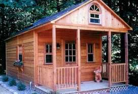 Modular homes modular cabins and alternative on pinterest for Mother in law cottage log cabin