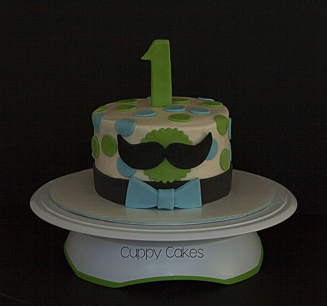 Mustache Smash Cake | Flickr - Photo Sharing!