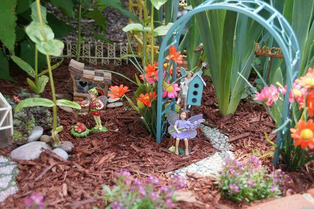 Home And Gardening With Liz Fantasy Fairy Garden 2018 Fairy