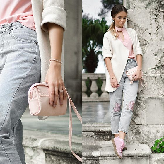 Get this look: http://lb.nu/look/8477931  More looks by Tamara Bellis: http://lb.nu/tamarabellis  Items in this look:  Sammydress Cardigan, Zaful Jeans, Simmi Shoes Sneakers, New Yorker  Bag   #casual #chic #street
