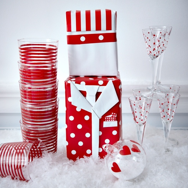 Το κόκκινο είναι το κατεξοχήν χρώμα των Χριστουγέννων –χρησιμοποιείστε το άφοβα!