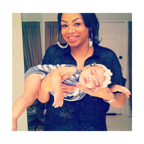 New PICS Bow Wow's Daughter Shai Moss At 7 Months | MrsGrapevine.com ❤ liked on Polyvore