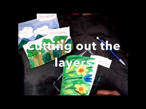 (56) Layered Landscapes-  Foreground, Middleground, Background Painting - YouTube