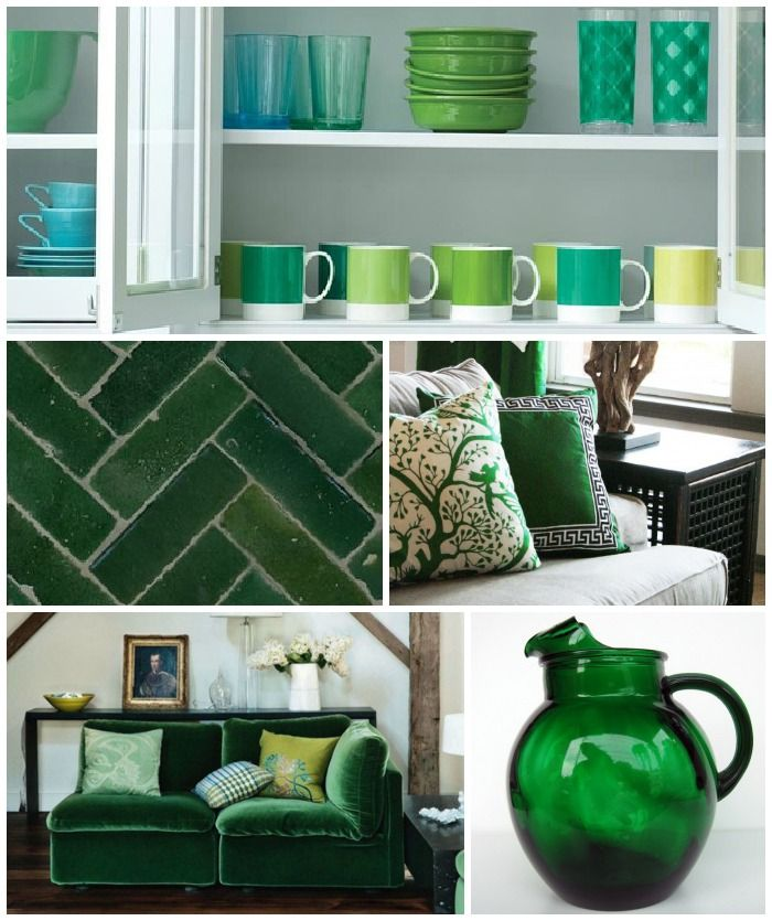 Color Pantone Wheel Interior Design | Pantone Color of the Year 2013:  Emerald