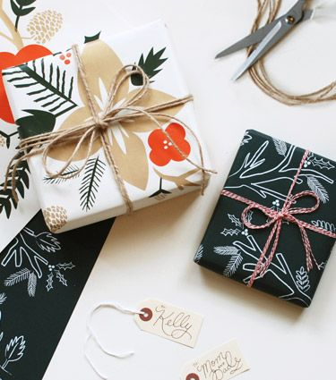 wrapping sheets from rifle paper