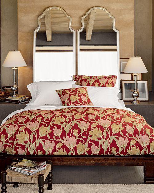 Cómo decorar un dormitorio con espejos como cabeceros de cama. | Mil Ideas de Decoración