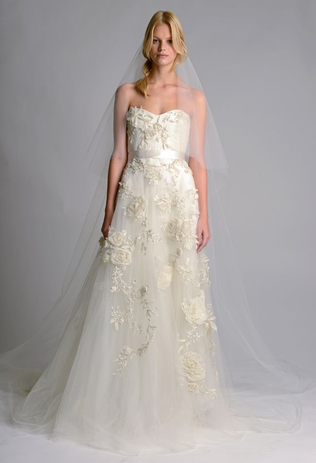 Marchesa Fall 2014 Wedding Dresses | The Knot Blog – Wedding Dresses, Shoes,  Hairstyle News  Ideas